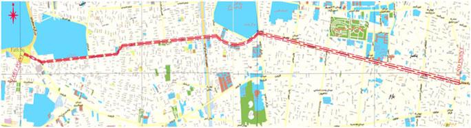 مطالعات امکانسنجی تونل ادامه بزرگراه شهید محلاتی حد فاصل محدوده تقاطع خیابان 17 شهریور تا میدان فتح