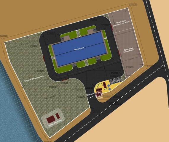 خدمات مهندسي طرح احداث گمرك موقت و چهار دستگاه آب شيرينكن در جزيره خارک
