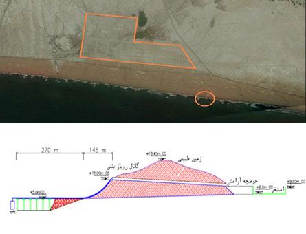 خدمات مهندسی احداث واحد آبگیری پروژه پرورش میگوی رودیک