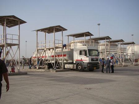 نظارت عالیه و کارگاهی و خدمات بازرسی فنی بر عملیات اجرایی ساخت پایانه نفتی در بندر امام خمینی