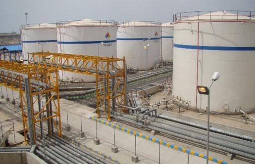 خدمات نظارت بر ساخت و اجرای احداث پايانه نفتي  بندر امام خميني