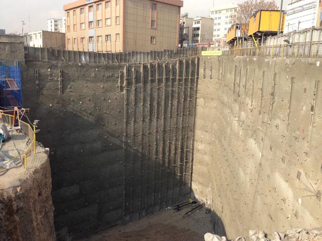 بررسی و ارزیابی مخاطرات 28 گودبرداریهای بزرگ واقع در محدوده منطقه 2 شهرداری تهران