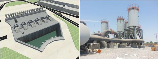 طراحی سیستم آبگیر و تخلیه پساپ آب شیرینکن بندرعباس ـ شایا