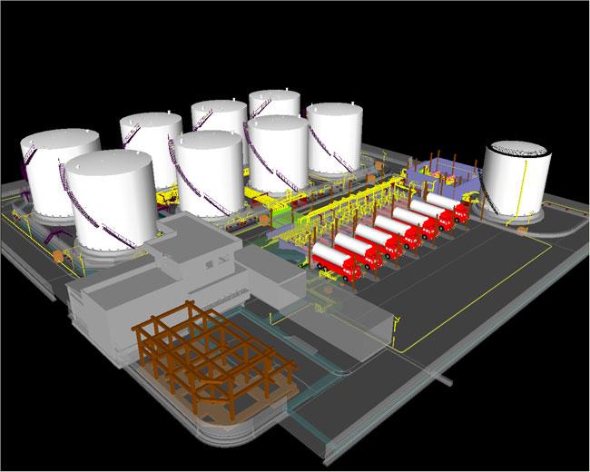 طراحی پایه و تفصیلی پایانه نفتی شرکت توسعه نفت هرمزان