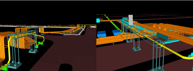 طراحی و خدمات مهندسی خطوط لوله انتقال مایعات هیدروکربنی تأسیسات گاز خونسرخ