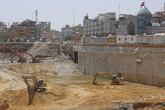 ارائه خدمات مشاوره  عالی در پروژه توسعه حرم امام حسین