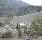 انجام حفاری گمانه به عمق 185 متر در محل شفت زیمکان طرح تونل نوسود توسط مهندسین مشاور
